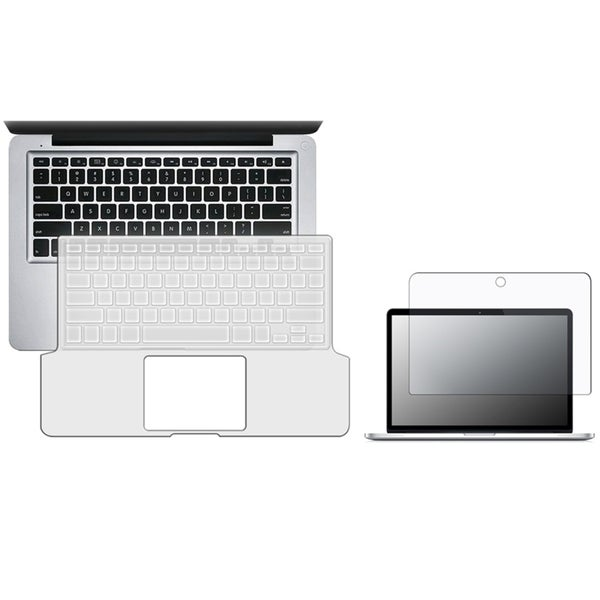 INSTEN Anti-glare Screen Protector/ Clear Keyboard Cover for Apple MacBook Pro 13-inch
