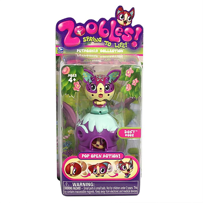 Zoobles Dog and Happitat Toy