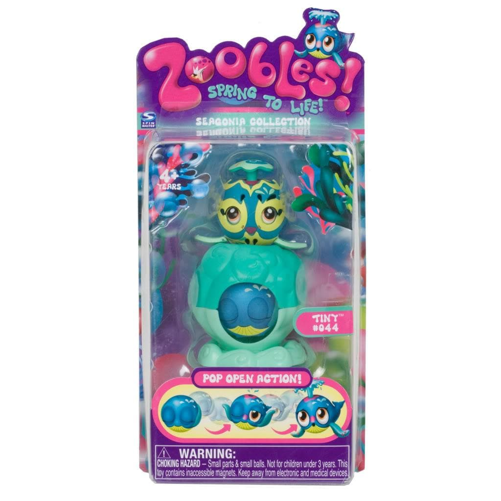 Zoobles Whale and Happitat Toy