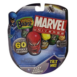 Mighty Beanz Marvel Comics Assorted 4-pack Toy Set