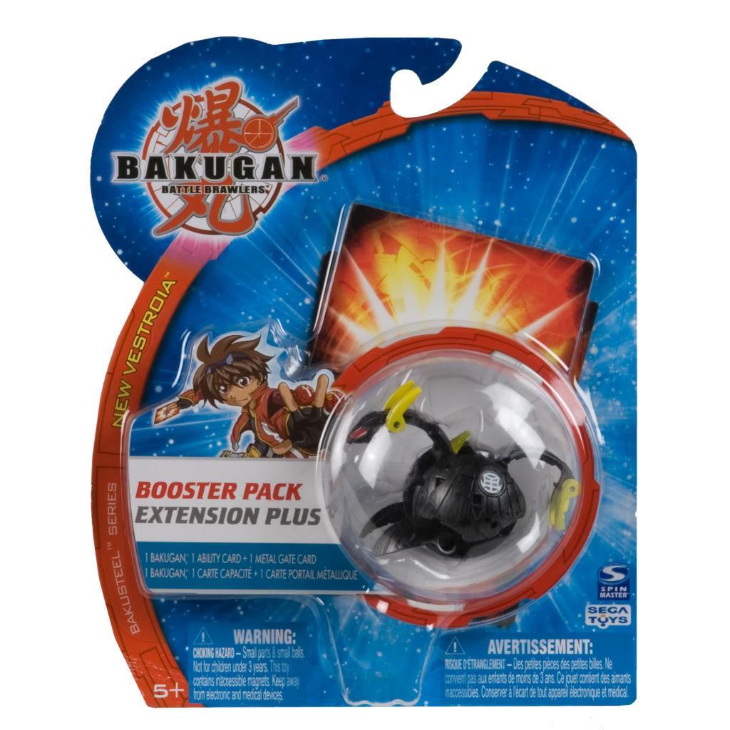 Spinmaster Plastic Bakugan Bakusteel Vestoria Booster Pack Toy