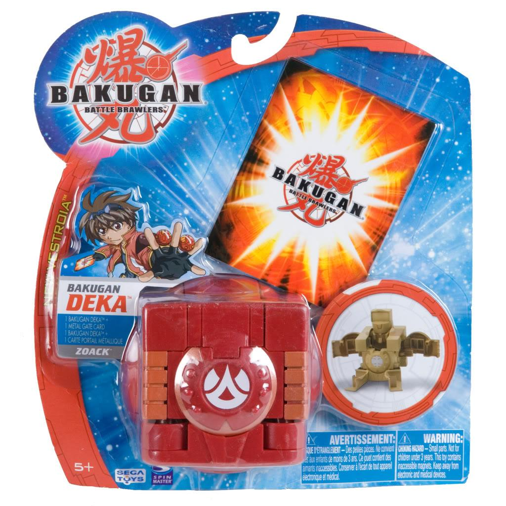 Bakugan Deka Cube Zoack Battle Brawler Toy - Thumbnail 0