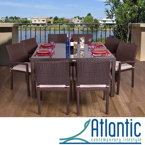 Havenside Home Popham 9-piece Outdoor Dining Set