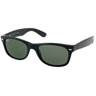 Ray-Ban New Wayfarer RB2132 Unisex Black Frame Green Lens Sunglasses|https://ak1.ostkcdn.com/images/products/6191148/P13841642.jpg?impolicy=medium