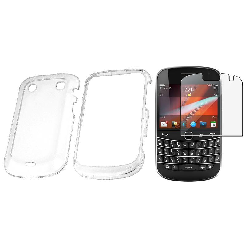 Clear Case/ Screen Protector for BlackBerry Bold 9900/ 9930