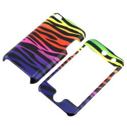INSTEN Colorful Zebra iPod Case Cover for Apple iPod Touch 4th Generation