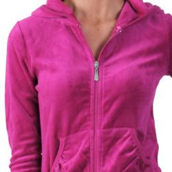 Journee Collection Women's Velour Hooded Lounge Set
