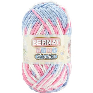 Bernat Pink and Blue Baby Blanket Yarn