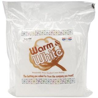 'Warm & White' Twin Size Cotton Batting