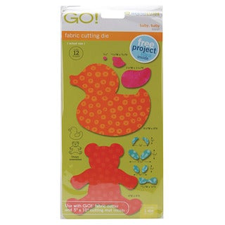 Accuquilt GO! Fabric 'Baby, Baby' Cutting Die for GO! Fabric Cutter