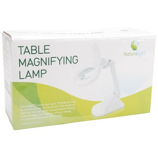 Daylight Naturalight Table Magnifying Lamp