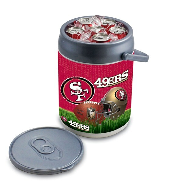 Picnic Time San Francisco 49ers Can Cooler