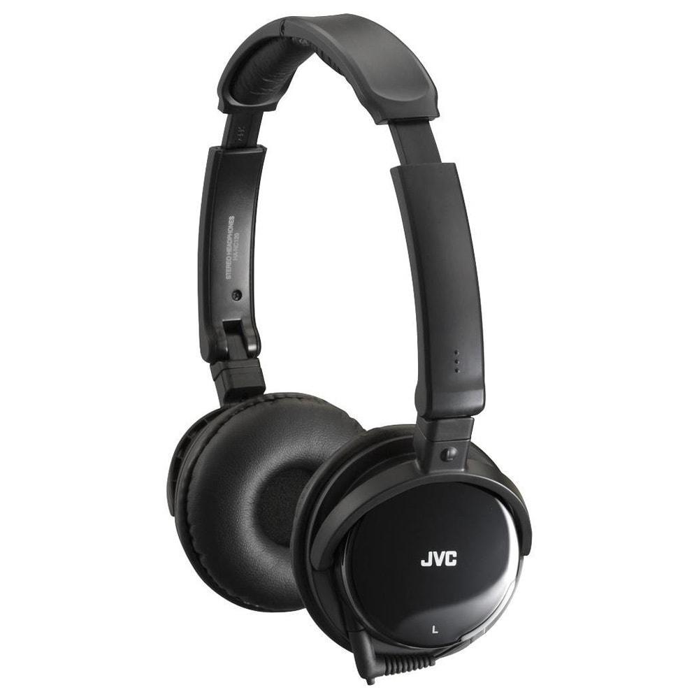 JVC Noise-Canceling Headphones Edu, Black #HANC120