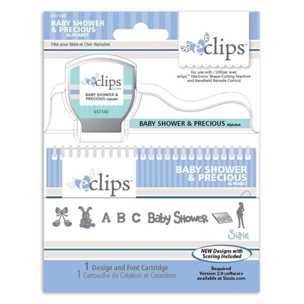 Sizzix eclips Cartridge - Baby Shower & Precious Alphabet