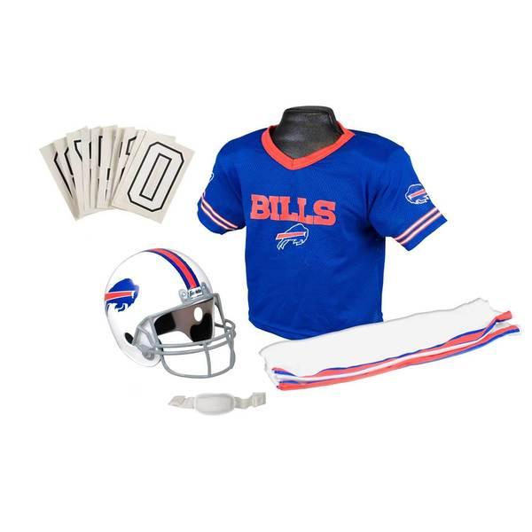 Franklin Sports NFL Buffalo Bills Youth Uniform Set