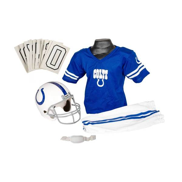 Franklin Sports NFL Indianapolis Colts Youth Uniform Set