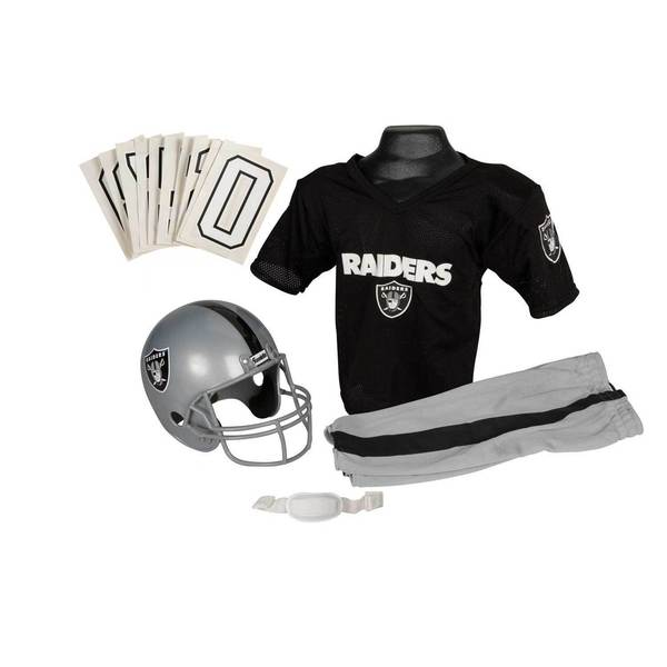 Shop Franklin Sports NFL Oakland Raiders Youth Uniform Set - Free Shipping  Today - Overstock - 6192069 7435eedd1