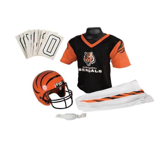 Franklin Sports NFL Cincinnati Bengals Youth Uniform Set