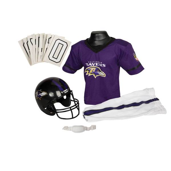Franklin Sports NFL Baltimore Ravens Youth Uniform Set