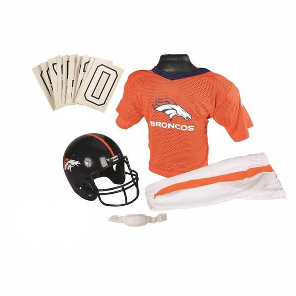 Franklin Sports NFL Denver Broncos Youth Uniform Set