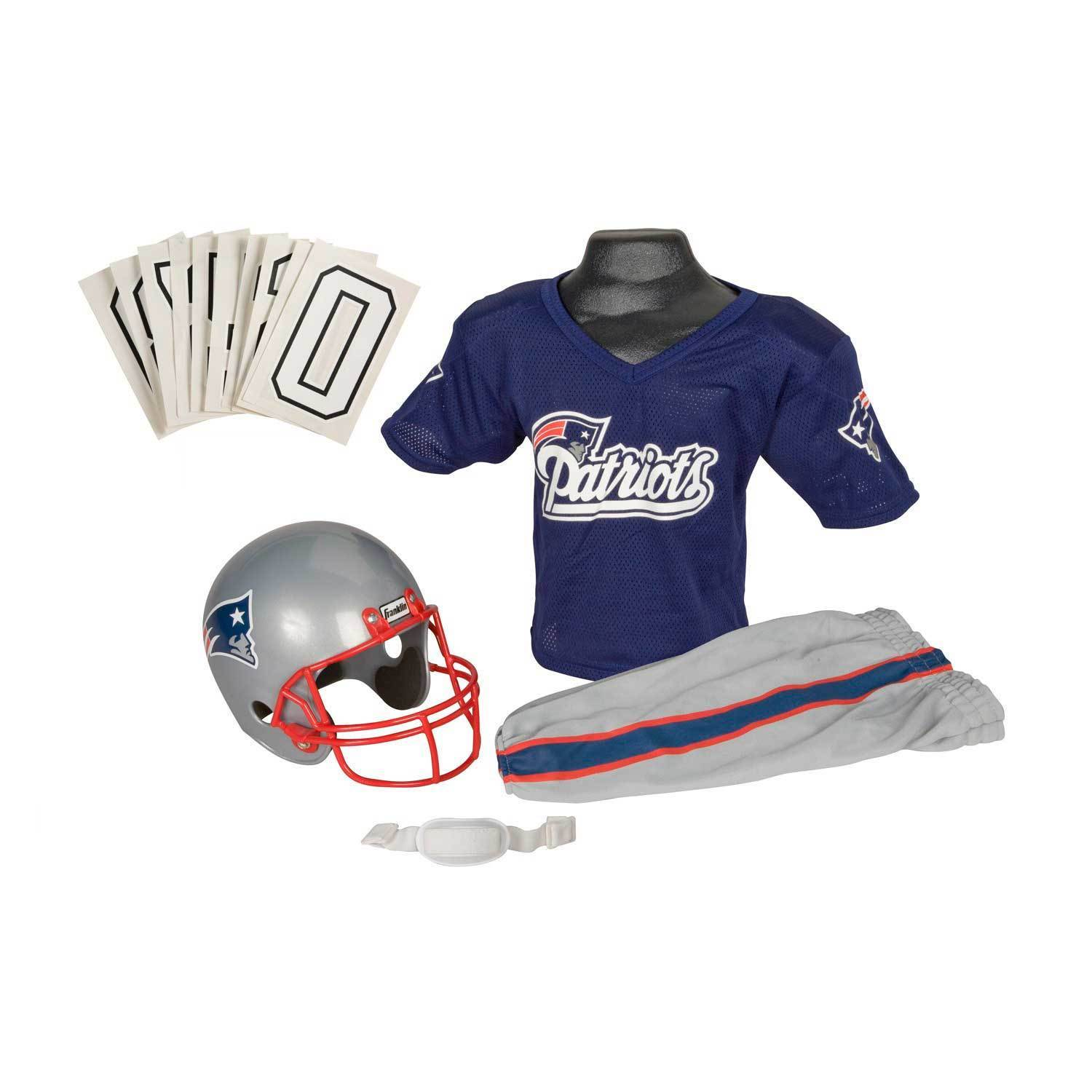 huge selection of 00694 1b750 Franklin Sports NFL New England Patriots Youth Uniform Set