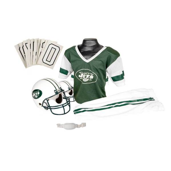 Franklin Sports NFL New York Jets Youth Uniform Set