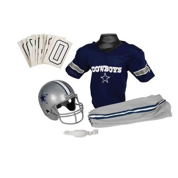 low priced 7cc83 437dd Franklin Sports NFL Dallas Cowboys Youth Uniform Set