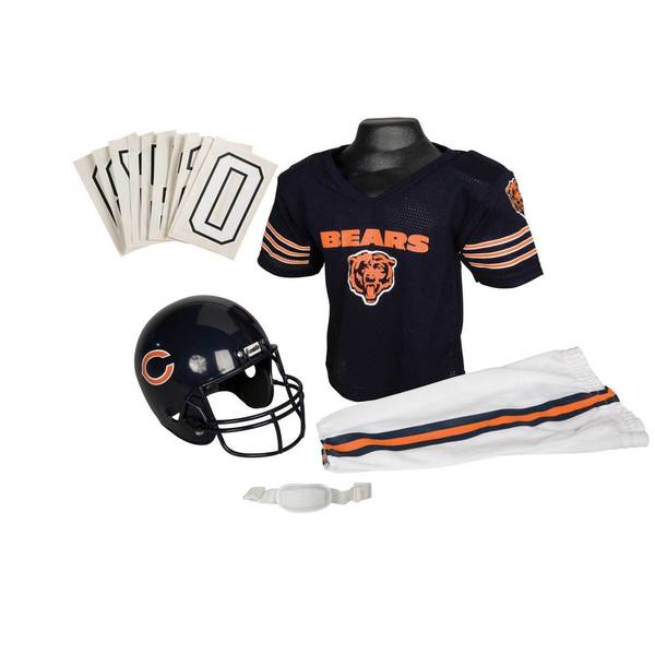 Franklin Sports NFL Chicago Bears Youth Uniform Set - Chicago Bears