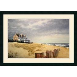 Daniel Pollera 'Beach House' 43 x 31-inch Framed Art Print