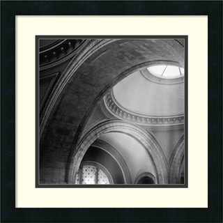 Framed Art Print 'Architectural Detail No. 51' by Ellen Fisch 18 x 18-inch