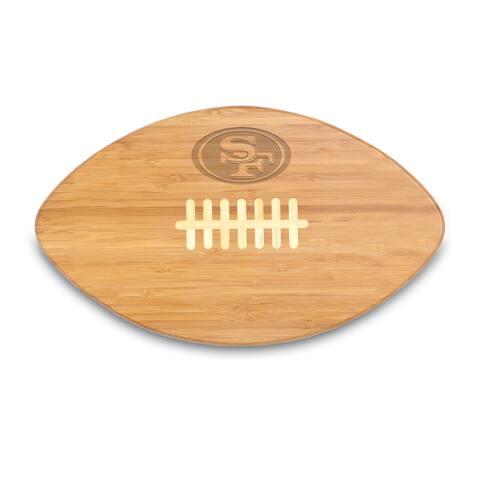 Picnic Time San Francisco 49ers Touchdown Pro! Bamboo Cutting Board
