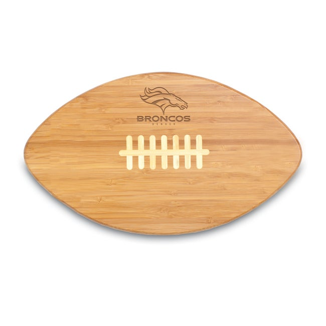 Picnic Time Denver BroncosTouchdown Pro! Cutting Board