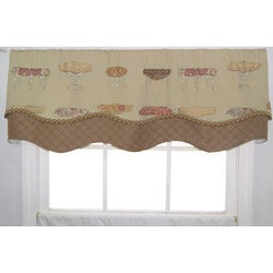 Ottomans & Tables Print Valance