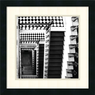 Framed Art Print 'Architectural Detail No. 34' by Ellen Fisch 18 x 18-inch
