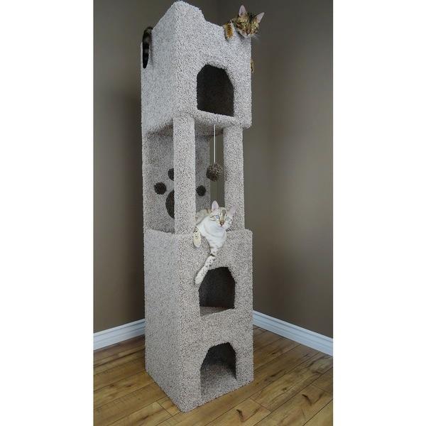 New Cat Condos 6-foot Cat Tower