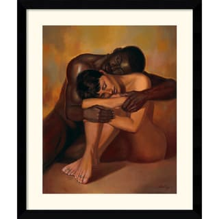 Sterling Brown 'Tenderness' 33 x 39-inch Framed Art Print
