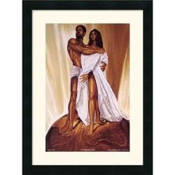 Wak - Kevin A. Williams 'Power of Love' 18 x 24-inch Framed Art Print