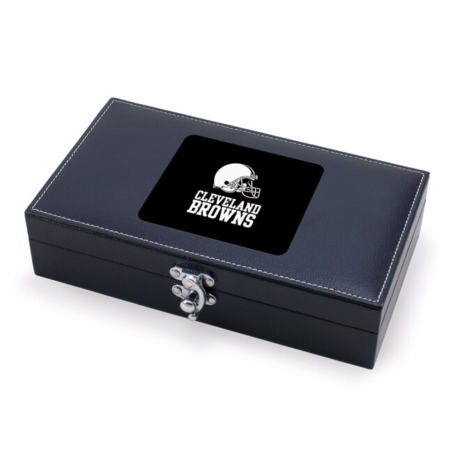 Picnic Time Cleveland Browns 5-piece Syrah Wine Box Set
