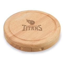 Picnic Time Tennessee Titans Brie Cheese Board Set