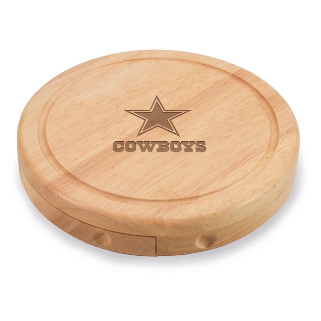 Picnic Time Dallas Cowboys Brie Cheese Board Set