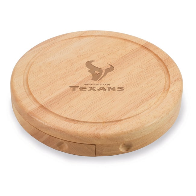 Picnic Time Houston Texans Brie Cheese Board Set