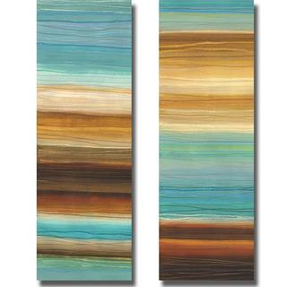 Jeni Lee 'Illumine I and II' 2-piece Canvas Art Set