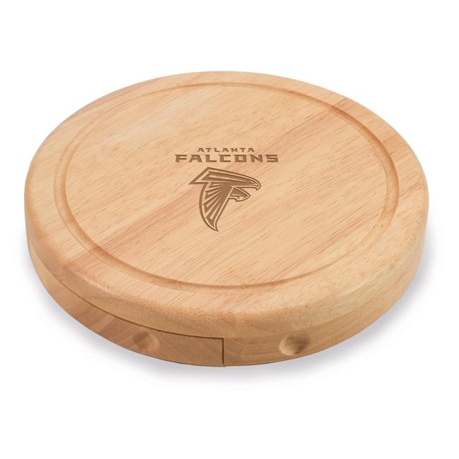 Picnic Time Atlanta Falcons Brie Cheese Board Set