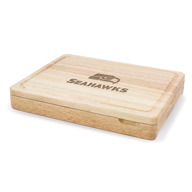Picnic Time Seattle Seahawks Asiago Folding Cutting Board