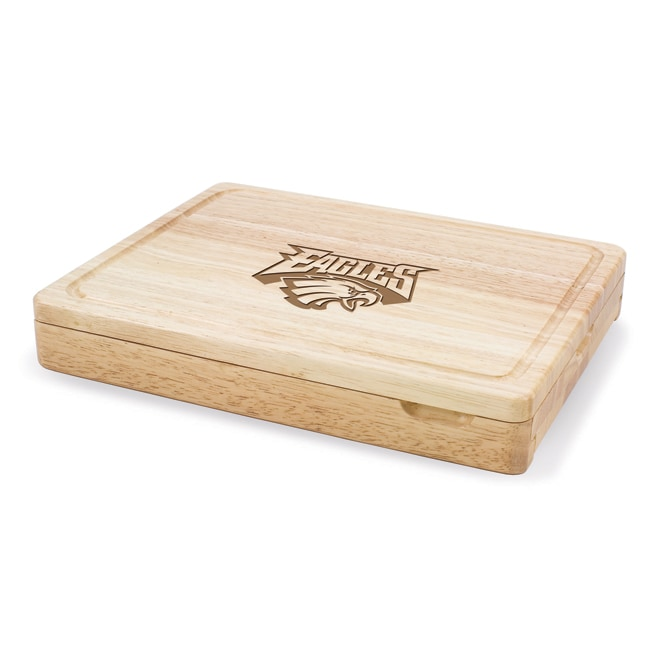 Picnic Time Philadelphia Eagles Asiago Folding Cheese Board Set
