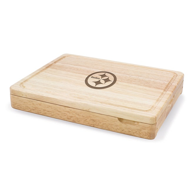 Picnic Time Pittsburgh Steelers Asiago Folding Cutting Board