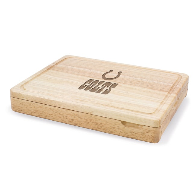 Picnic Time Indianapolis Colts Asiago Folding Cutting Board