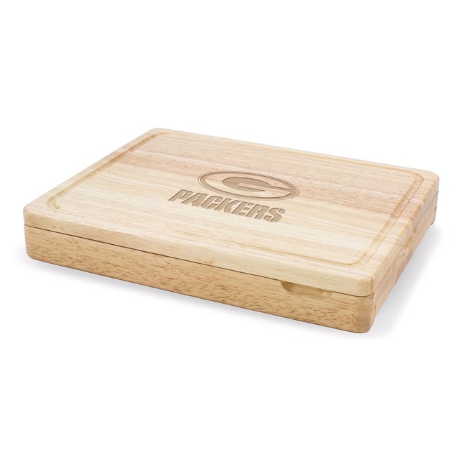 Picnic Time Green Bay Packers Asiago Folding Cutting Board