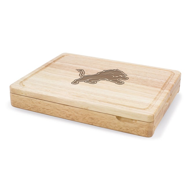 Picnic Time Detroit Lions Asiago Folding Cutting Board