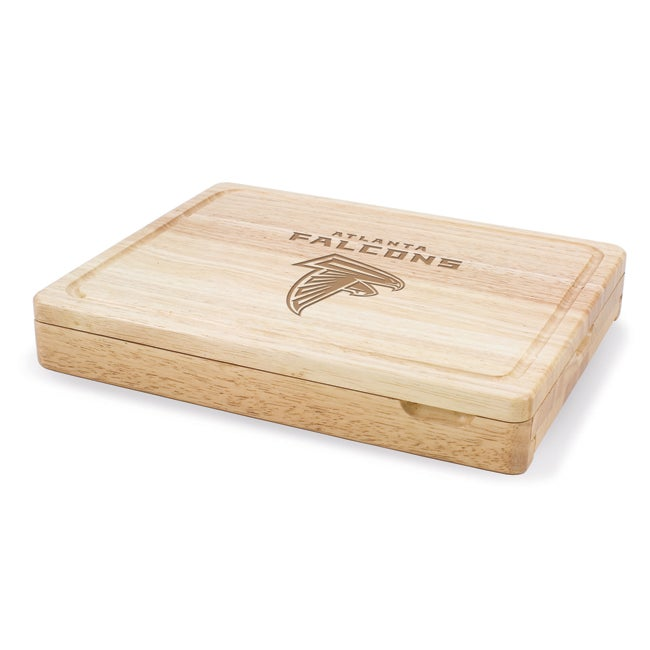 Picnic Time Atlanta Falcons Asiago Cheese Knife Set